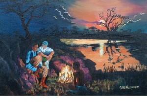 Kortenbout,Gerard-Campfire