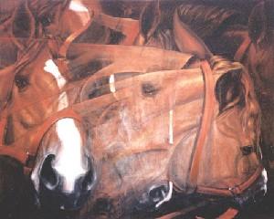 Siete caballos