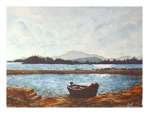 Little boat, Lough Conn