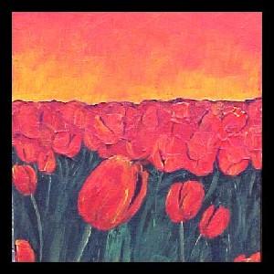 <b>Tulips Sunset