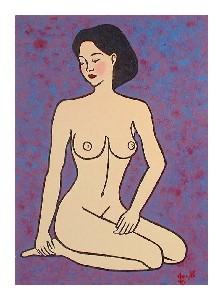 Blushing Nude
