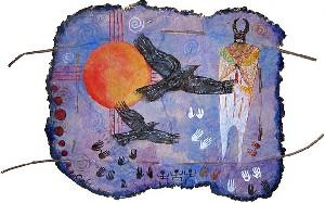 Blessing the ravens