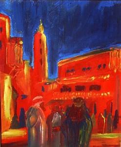 La place Jeema-el-Fna