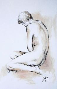 de Villiers,Antoine-Figure Drawing I