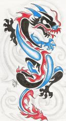 Henton,Jak-Tribal Dragon