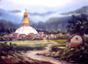 BOUDH TEMPLE IN NEPAL