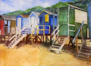 Letts,Amy-Beach Huts