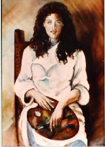 Di XX Miglia,Gabriella-Self portrait