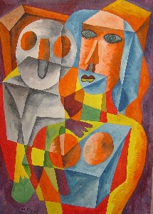 Mirek Sledz - Colourful pair