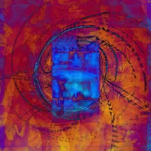 Graves,Susan-Neon Blue Obilisque