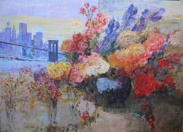 Paunovic,Slobodan-New York and flowers