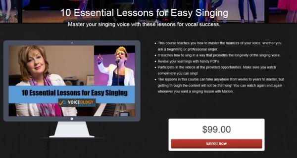 Professional Singing Lessons Sydney