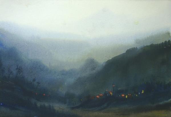 SARKAR,SAMIRAN-Mysterious Himalaya Landscape
