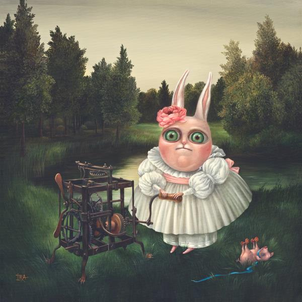 Children's Games-4. Prints on Premium Canvas.