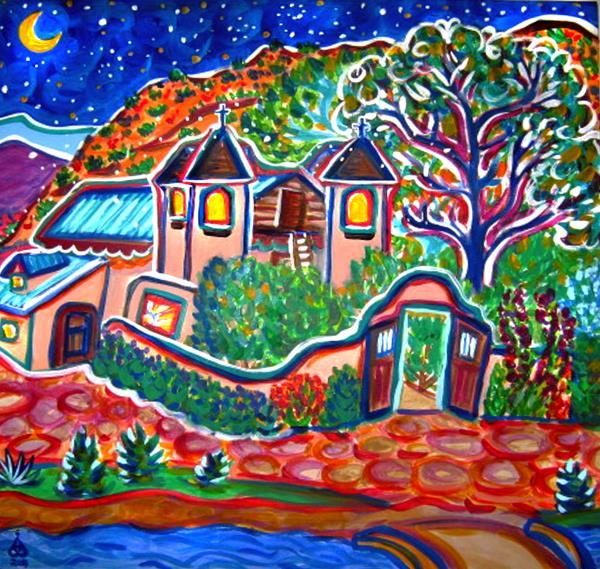 Houseman,Rachel-Chimayo Chapel at Night
