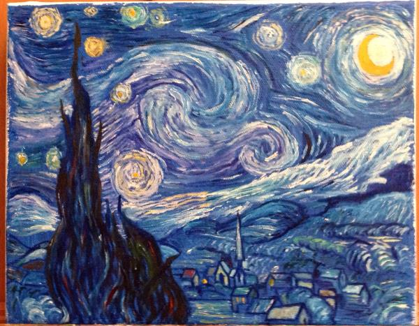 Copy of van Gogh's Starry Night