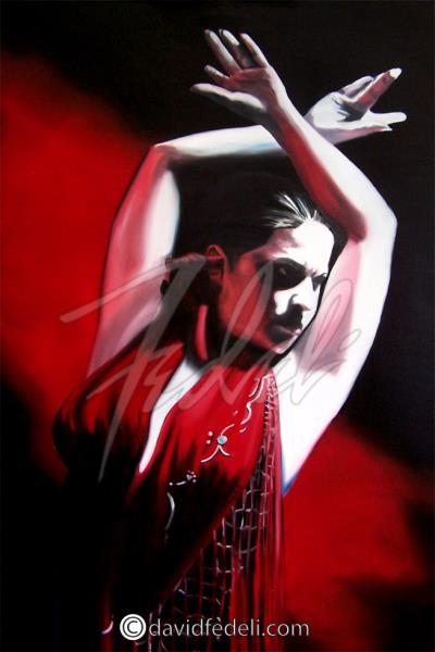 Fedeli,David-Flamenco Red