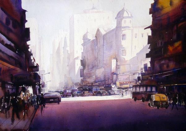 SARKAR,SAMIRAN-Morning Street