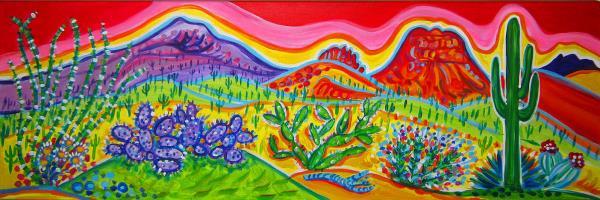 Houseman,Rachel-Black Canyon Cactus Garden