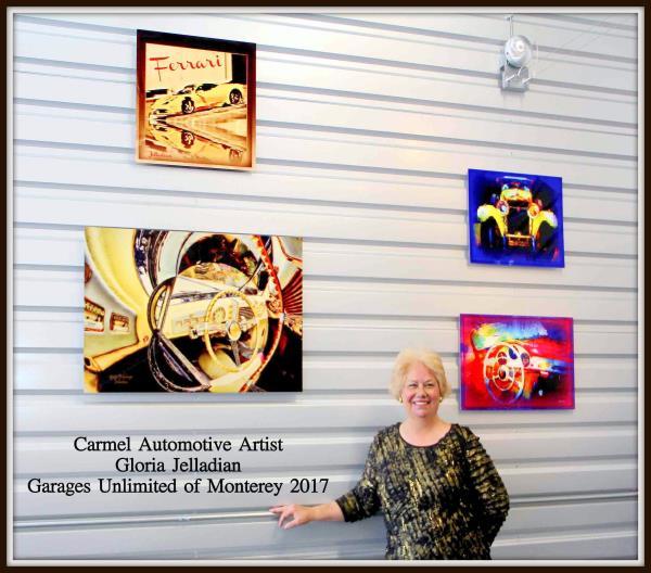 Gloria Jelladian - Automotive Artist