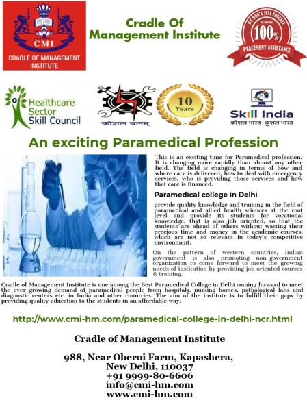 Paramedical College in Delhi NCR