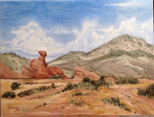 Rock Formation near Morrison, CO