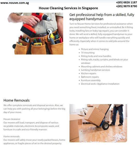 House Cleaning Services in Singapore