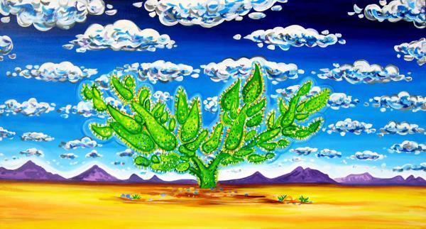 Houseman,Rachel-Cactus in the Clouds II