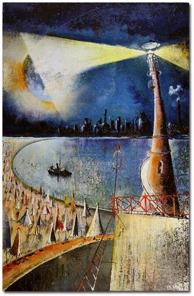 Serravalli,Gianluigi-Dialogo tra un faro e una luna