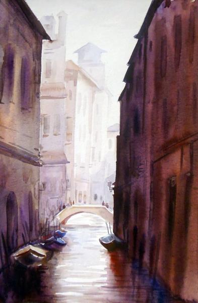 SARKAR,SAMIRAN-Venice Canals at Early Morning