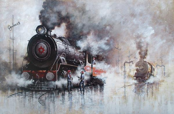 Nostalgia of Steam Locomotives 31