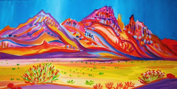 Houseman,Rachel-Calico Mountain Colors