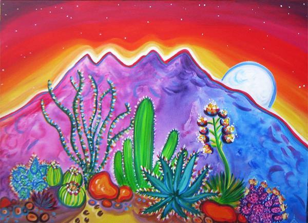 Four Peaks Cactus Garden