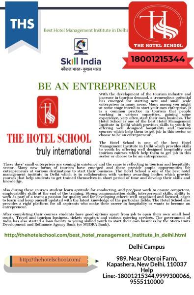 School,The Hotel-Best Hotel Management Institute in Delhi