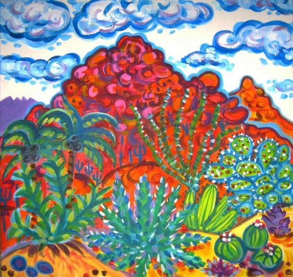 Houseman,Rachel-Camelback Cactus Garden