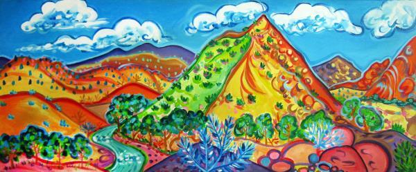 Houseman,Rachel-Embudo Valley Peak