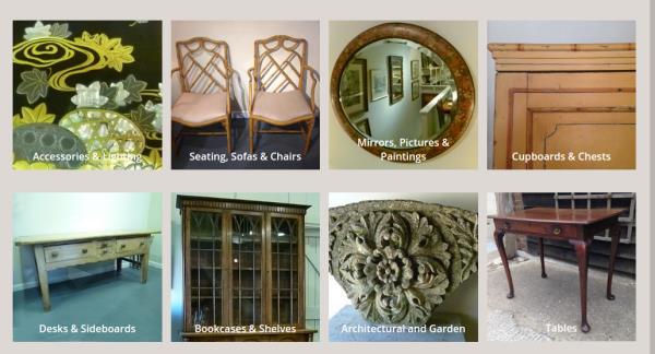 Decorative Antiques: John Bird Antiques, Petworth, West Sussex, UK