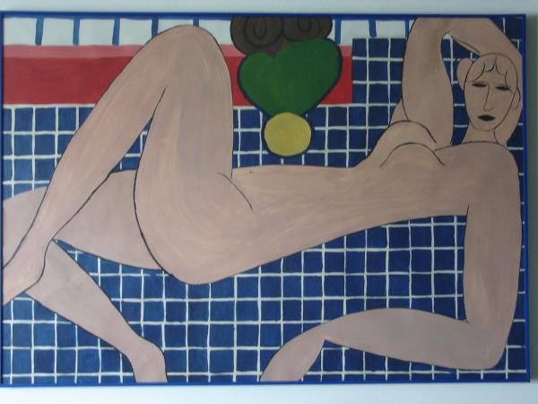 Nude a la Matisse