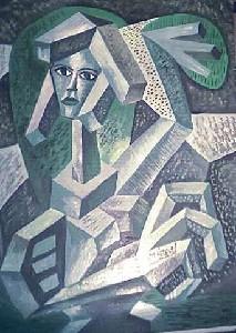 Mirek Sledz - Girl in the green