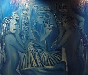 Aegyptico Azulis - The Sacred Stone