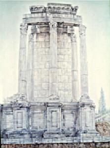 Bulman,Rick-Temple At Sunrise