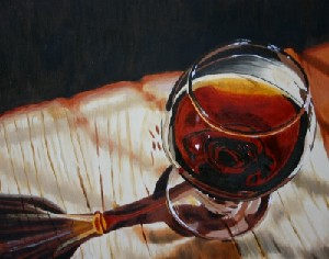 Sakjo,Renata-Glass of Cognac