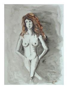 Auburn Nude