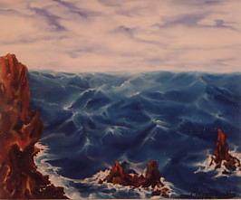 Imani,Masrur-Wavy sea