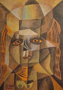 Mirek Sledz -  Woman in brown