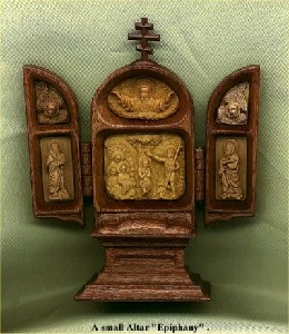 .,DDE(f)-Epiphany - small wood Altar