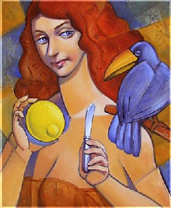 Lady With Lemon.