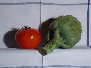 Tomate et Artichaut