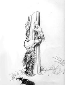 Sabretooth woman