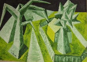Mirek Sledz - Green landscape